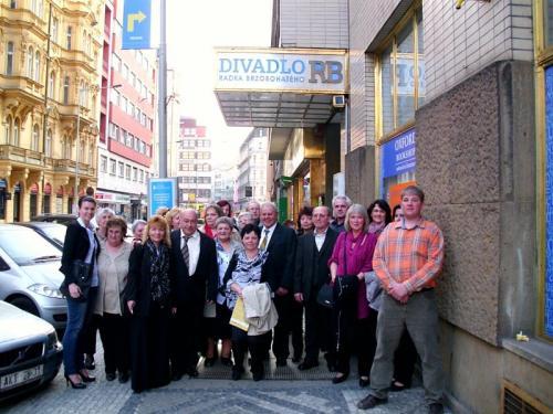 2012 - Zájezd do divadla Radka Brzobohatého - 24. března