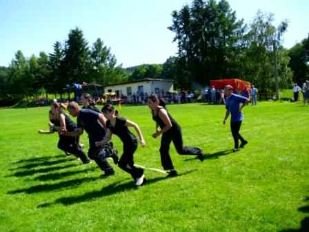 2012 - hasičské závody - 16. června - Únějovice