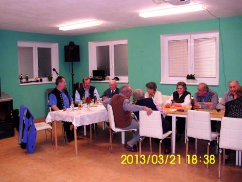 2013 - březen - setkání seniorů