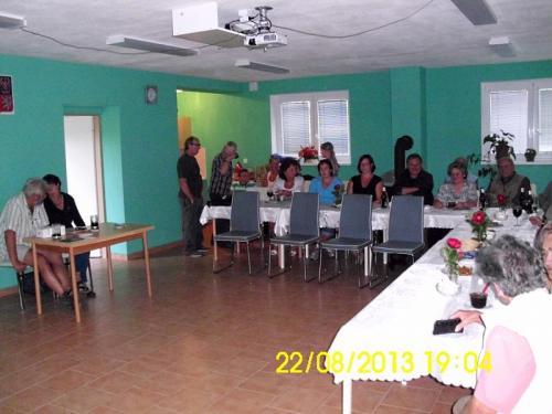 2013 - srpen - přednáška o putování po Peru a Bolívii