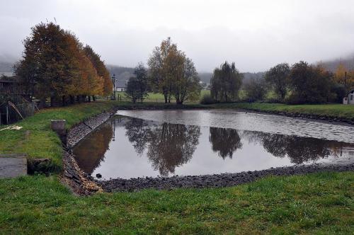 2016 - listopad - výlov obecního rybníka